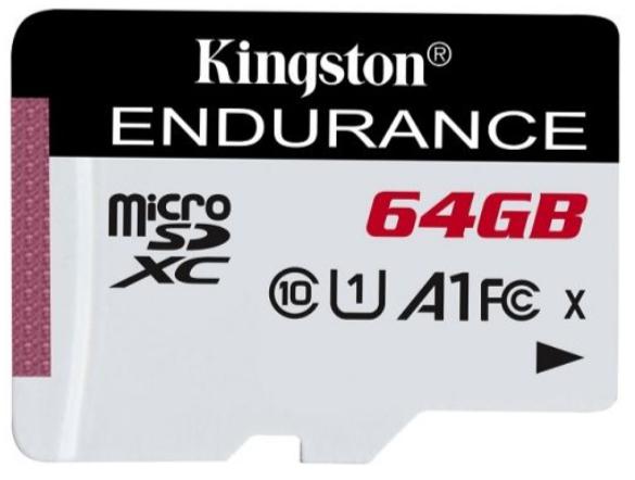 Карта памяти Kingston microSDHC 64GB (SDCE/64GB)