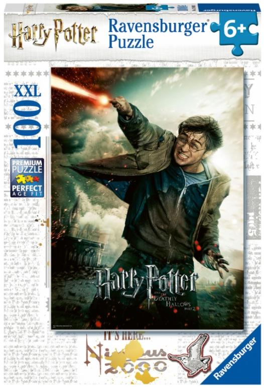 Пазл Гарри Поттер: Вингардиум Левиоса (100 элементов)