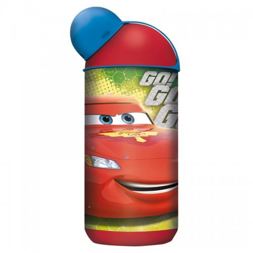 Бутылка Тачки: Грани гонок (пластиковая) (420 мл.)