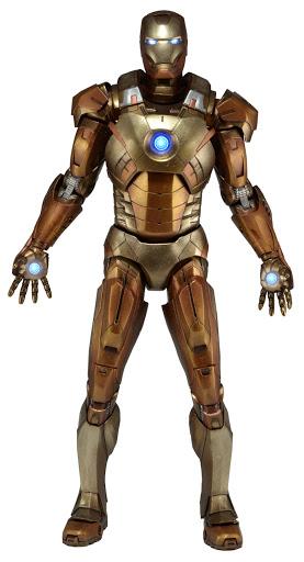 Фигурка Avengers. 1/4 Iron Man Mark XXI Midas Version (Gold Armor) (46 см)Фигурка Avengers. 1/4 Iron Man Mark XXI Midas Version (Gold Armor) создана по мотивам фантастического фильма &amp;laquo;Мстители&amp;raquo;.<br>