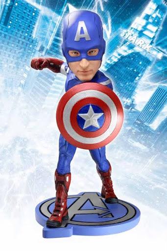 Фигурка Avengers Captain America Headknocker (18 см)Фигурка Avengers Captain America Headknocker создана по мотивам популярного фильма вселенной Marvel &amp;laquo;Мстители&amp;raquo;.<br>