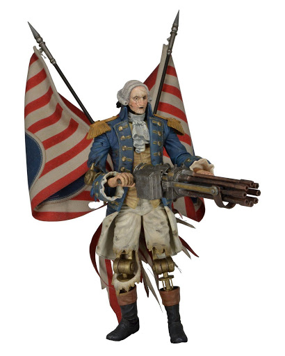 Фигурка Bioshock Infinite. George Washington Patriot (23 см)Фигурка Bioshock Infinite. George Washington Patriot создана по мотивам популярной компьютерной игры &amp;laquo;Bioshock Infinite&amp;raquo;.<br>