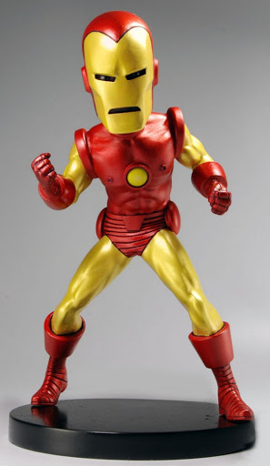 Фигурка Iron Man. Marvel Classic. Man Head Knocker Extreme (20 см)