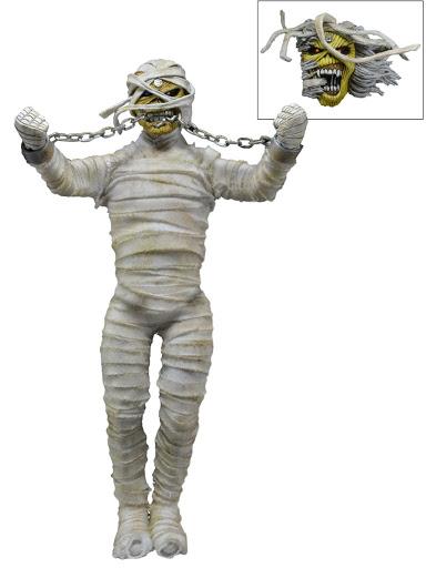 Фигурка-кукла Iron Maiden. Mummy Eddie (20 см)Фигурка-кукла Iron Maiden. Mummy Eddie &amp;ndash; экшн-фигурка знаменитого Эдди &amp;ndash; символа и маскота британской хеви-метал-группы Iron Maiden.<br>
