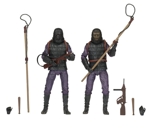 Фигурка Planet Of The Apes. Action Figure. Classic Gorilla Soldier. 2 Pack (18 см) фигурки игрушки neca фигурка dawn of the planet of the apes 7 series 1 caesar