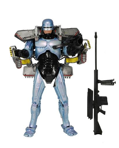 Фигурка Robocop. Robocop With Jetpack And Cobra Assault Cannon (18 см)Фигурка Robocop. Robocop With Jetpack And Cobra Assault Cannon создана по мотивам популярного фантастического фильма «Робокоп».<br>