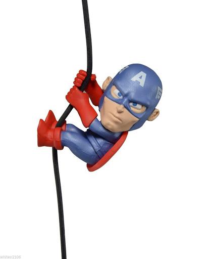 Фигурка Scalers Mini Figures. Wave 3. Captain America (Characters) (5 см)