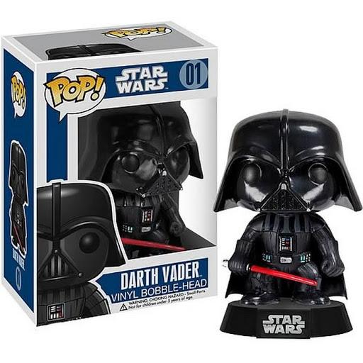 Фигурка Star Wars: POP Darth Vader Bobble (14 см) фигурка funko pop bobble marvel black panther nakia