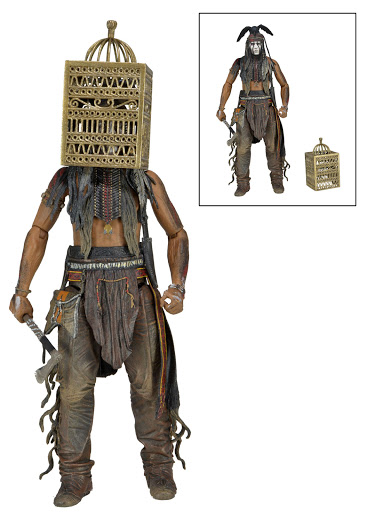 Фигурка The Lone Ranger Series 2 Tonto with Bird Cage (18 см) фигурки игрушки neca фигурка planet of the apes 7 series 1 dr zaius
