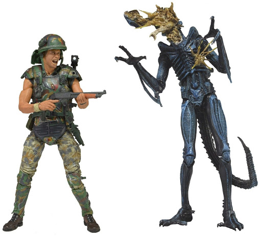 Набор фигурок Aliens Hicks vs. Blue Warrior 2 Pack (18 см) india hicks island style