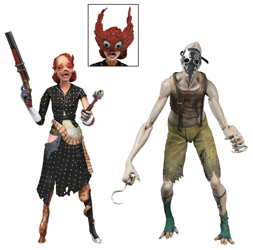 Набор фигурок Bioshock Splicer Ladysmith and Crawler 2 Pack (18 см)Набор фигурок Bioshock Splicer Ladysmith and Crawler 2 Pack создан по мотивам популярной видеоигры &amp;laquo;Bioshock 2&amp;raquo;.<br>