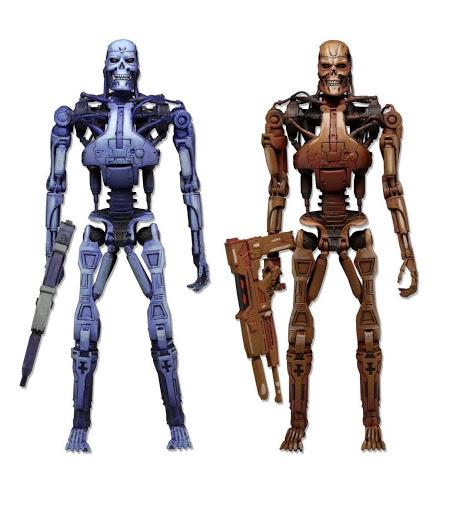 Набор фигурок Robocop. Robocop Vs. The Terminator. Endoskeleton 2 Pack (1993 Video Game) (18 см)Набор фигурок Robocop. Robocop Vs. The Terminator. Endoskeleton 2 Pack (1993 Video Game) воплощают собой главных героев из популярных фантастических фильмов «Робокоп» и «Терминатор».<br>