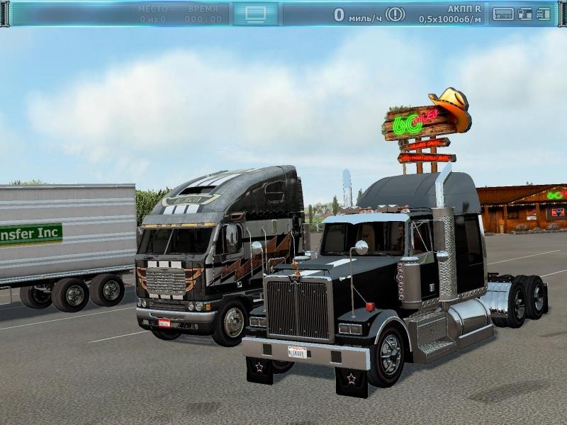 Аэрография для тягача Freightliner FLD120 Classic XL [PC, Цифровая версия] (Цифровая версия) от 1С Интерес