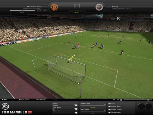 FIFA Manager 08 Screenshot.