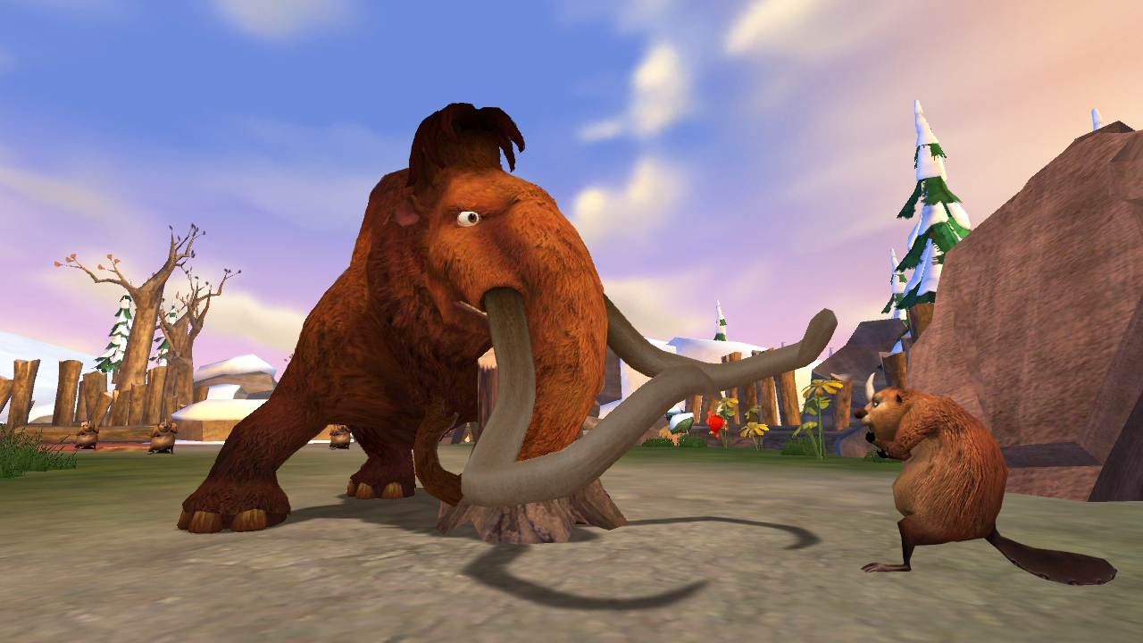 Ice Age 3 Dawn of the Dinosaurs RUS/ENG/PAL. Возраст. Жанр.