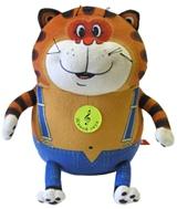 Мягкая игрушка со звуком Кот Таити (22 см)