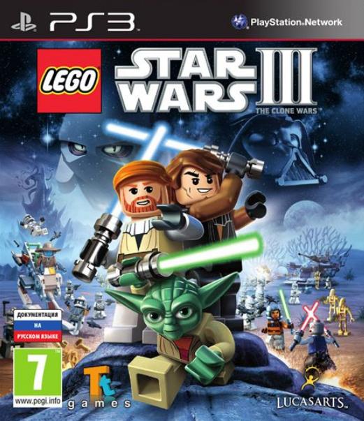 LEGO Star Wars III: The Clone Wars [PS3]Поклонники серии LEGO Star Wars вновь перенесутся в знаменитую фантастическую вселенную, собранную из конструктора LEGO. Благодаря новой игровой механике они будут строить, сражаться и развлекаться с небывалым до сих пор размахом<br>