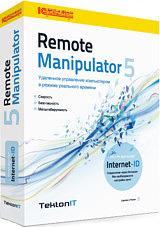 Remote Manipulator 5. Классическая (50–99 лицензий)  (указана стоимость одной лицензии)Классическая лицензия. Модуль R-Server (удаленный компьютер, к которому нужно получить доступ). Возможно как прямое соединение по IP-адресу, так и Internet-ID соединение, работающее через Интернет.<br>