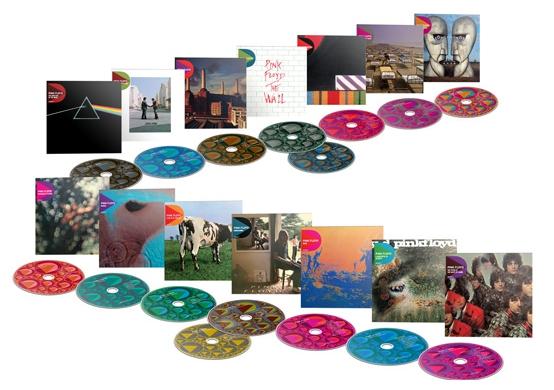 Pink Floyd. Discovery: 14Studio Album Catalogue Boxset (16CD) от 1С Интерес