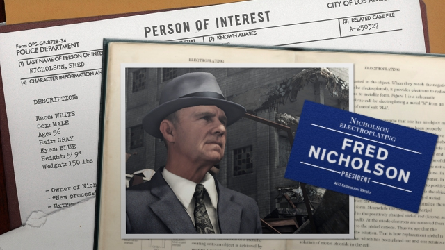 Latest L.A. Noire ScreenshotsLatest.
