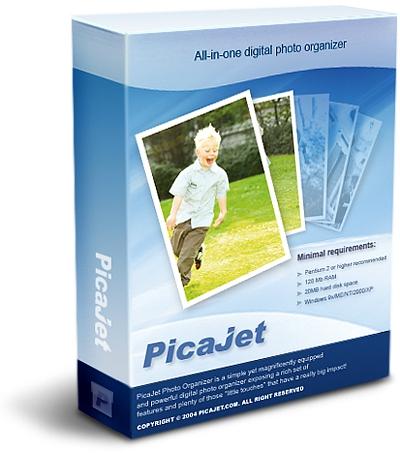 Цифровой фотоальбом PicaJetPicaJet FX &amp;ndash; цифровой фотоальбом для систематизации и быстрой коррекции фото-коллекций. Программа может мгновенно корректировать десятки фотографий одновременно без риска испортить снимки, записывать их на компакт-диски, просматривать коллекции как слайд-шоу, оптимизировать файлы для отправки по e-mail<br>