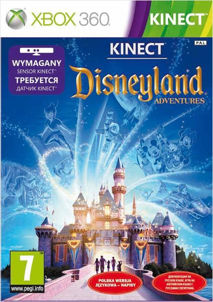 Kinect Disneyland Adventures (только для Kinect) [Xbox 360]С игрой Kinect Disneyland Adventures вы сможете прогуляться по волшебному парку Диснейленд,  не выходя из дома, и испытать невообразимые магические моменты. Исследуйте парк, погрузитесь в настоящую сказочную историю &amp;ndash; летайте, танцуйте и срывайтесь вниз на классических диснеевских аттракционах.<br>