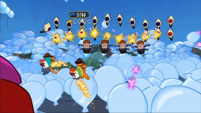 Disney Финес и Ферб. Покорение 2-го измерения (с поддержкой PS Move) [PS3] от 1С Интерес