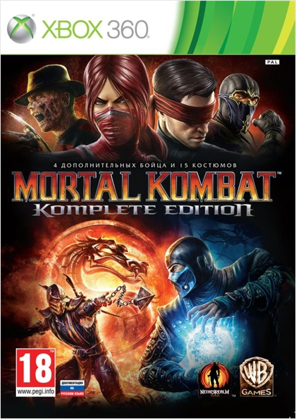 Mortal Kombat. Komplete Edition [Xbox360]
