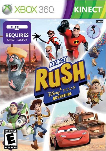 Kinect Rush. A Disney Pixar Adventure (только для Kinect) [Xbox360]