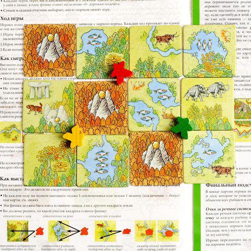 Настольная игра Каркассон. Охотники и собиратели (2-е издание) от 1С Интерес