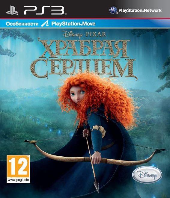 Disney: Храбрая сердцем (c поддержкой PS Move) [PS3]