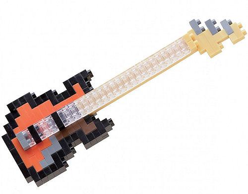 Конструктор nanoBlock. Бас-гитараКонструктор nanoBlock. Бас-гитара – самый маленький в мире конструктор от компании nanoBlock, крайне необычный, как все японское.<br>