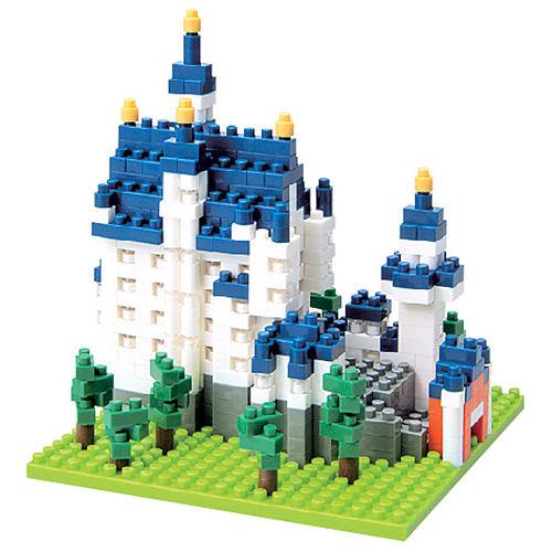 Конструктор nanoBlock. Замок НойшванштайнКонструктор nanoBlock. Замок Нойшванштайн – самый маленький в мире конструктор от компании nanoBlock, крайне необычный, как все японское.<br>