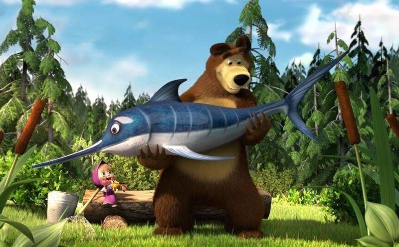 Маша и Медведь: Новогоднийподарок (DVD+CD) от 1С Интерес