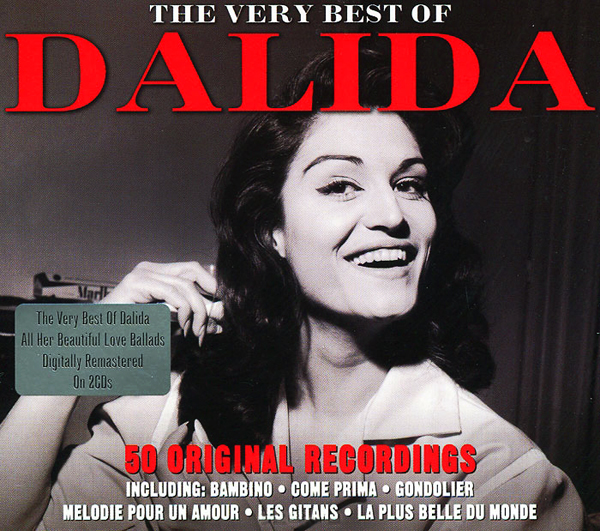 Dalida: Very Best Of (2 CD) vocalise best of rachmaninov 2 cd