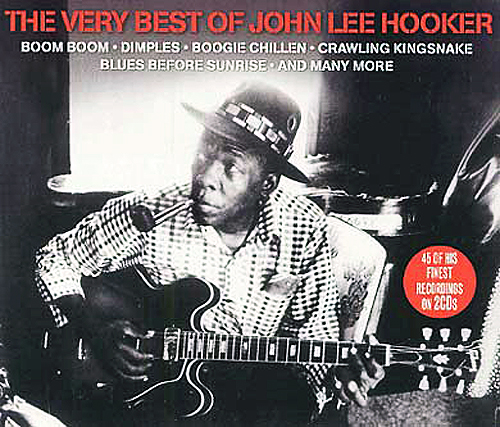 John Lee Hooker: Very Best Of (2 CD) cd сборник the very best of beethoven