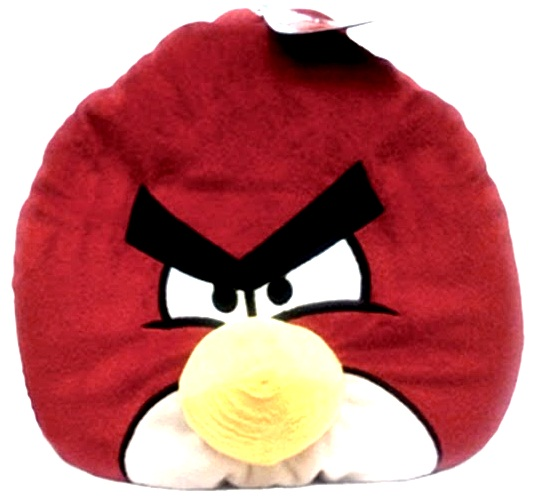 Мягкая игрушка Angry Birds Красная Птица