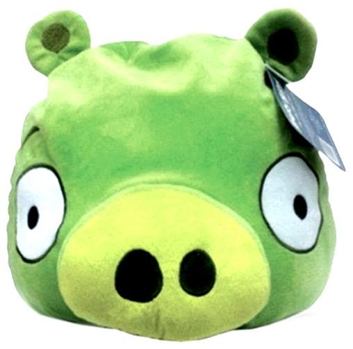 Мягкая игрушка Angry Birds Зеленая СвинкаМягкая игрушка Зеленая Свинка из игры Angry Birds воплощает собой Зеленую Свинку &amp;ndash; главного врага Злых Птичек, крадущего у них яйца, чтобы приготовить яичницу.<br>