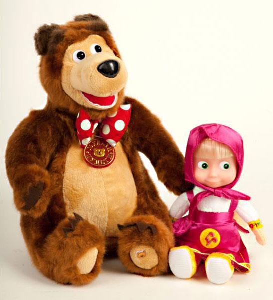 Медведь игрушка из маша и медведь