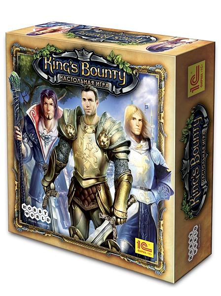 Настольная игра Kings BountyНастольная игра Kings Bounty приглашает вас в мир приключений и феодальных междоусобиц.<br>