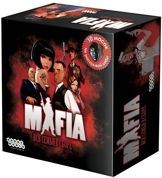 Настольная игра Мафия. Вся семья в сборе настольная игра hobby world hobby world настольная игра мафия вся семья в сборе