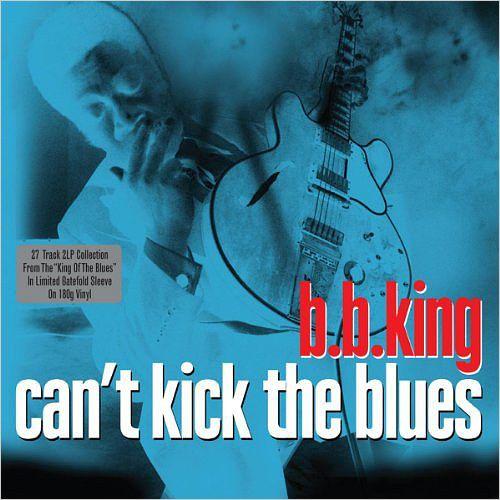 B.B. King. Cant Kick The Blues (2 LP)Предлагаем вашему вниманию изданный на виниле сборник короля блюза B.B. King  Cant Kick The Blues, содержащий избранные песни исполнителя.<br>
