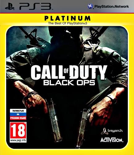 Call of Duty: Black Ops (с поддержкой 3D) (Platinum) [PS3]