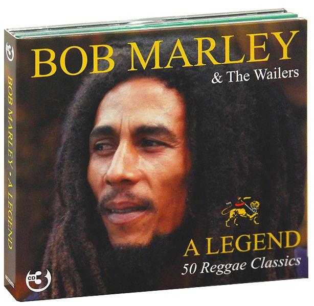 Bob Marley &amp; The Wailers: A Legend – 50 Reggae Classics (3 CD)Трехдисковое издание сборника Bob Marley &amp; The Wailers. A Legend. 50 Reggae Classics включает в себя 50 композиций от лучшего представителя направления регги.<br>