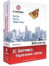 1С-Битрикс: Управление сайтом – Веб-кластер (лицензия) 1с битрикс постройте профессиональный сайт сами cd