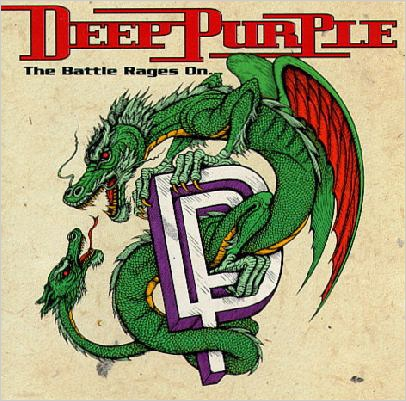 Deep Purple. Battle Rages On (LP) baby woodrose purple vinyl lp