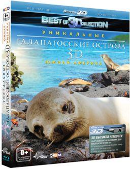 Галапагосские острова (Blu-ray 3D + 2D) Faszination Galapagos
