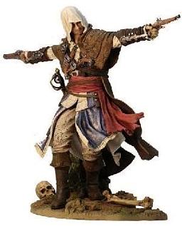 Фигурка Assassins Creed IV. Edward Kenway the Assassin Pirate (24 см)Фигурка Assassins Creed IV. Edward Kenway the Assassin Pirate воплощает в себе Эварда Кенуэя &amp;ndash; персонажа компьютерной игры Assassins Creed IV. Чёрный флаг.<br>