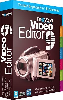 Movavi Video Editor 9. Бизнес версияMovavi Video Editor 9 &amp;ndash; новая версия популярного видеоредактора со встроенной программой для нарезки видео и новыми эффектами.<br>