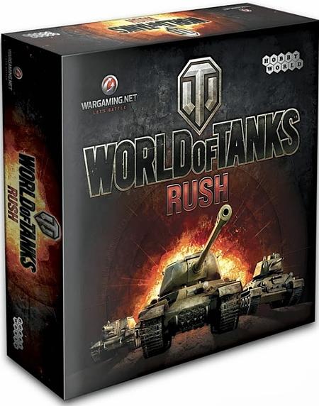 Настольная игра World of Tanks Rush (2-е издание)Настольная игра World of Tanks Rush создана по мотивам белорусской онлайн игры World of Tanks, заслуженно завоевавшей мировую популярность.<br>
